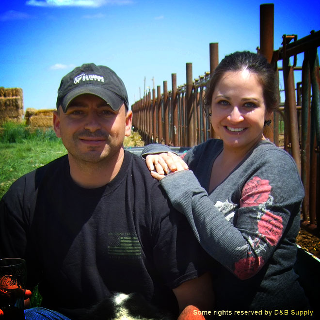 Tony and Tina on Their Ranch