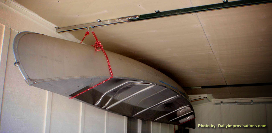 Laura Blodgett Blog & Fun Simple Pulley System Increases Garage Storage Space | Du0026B Supply ...
