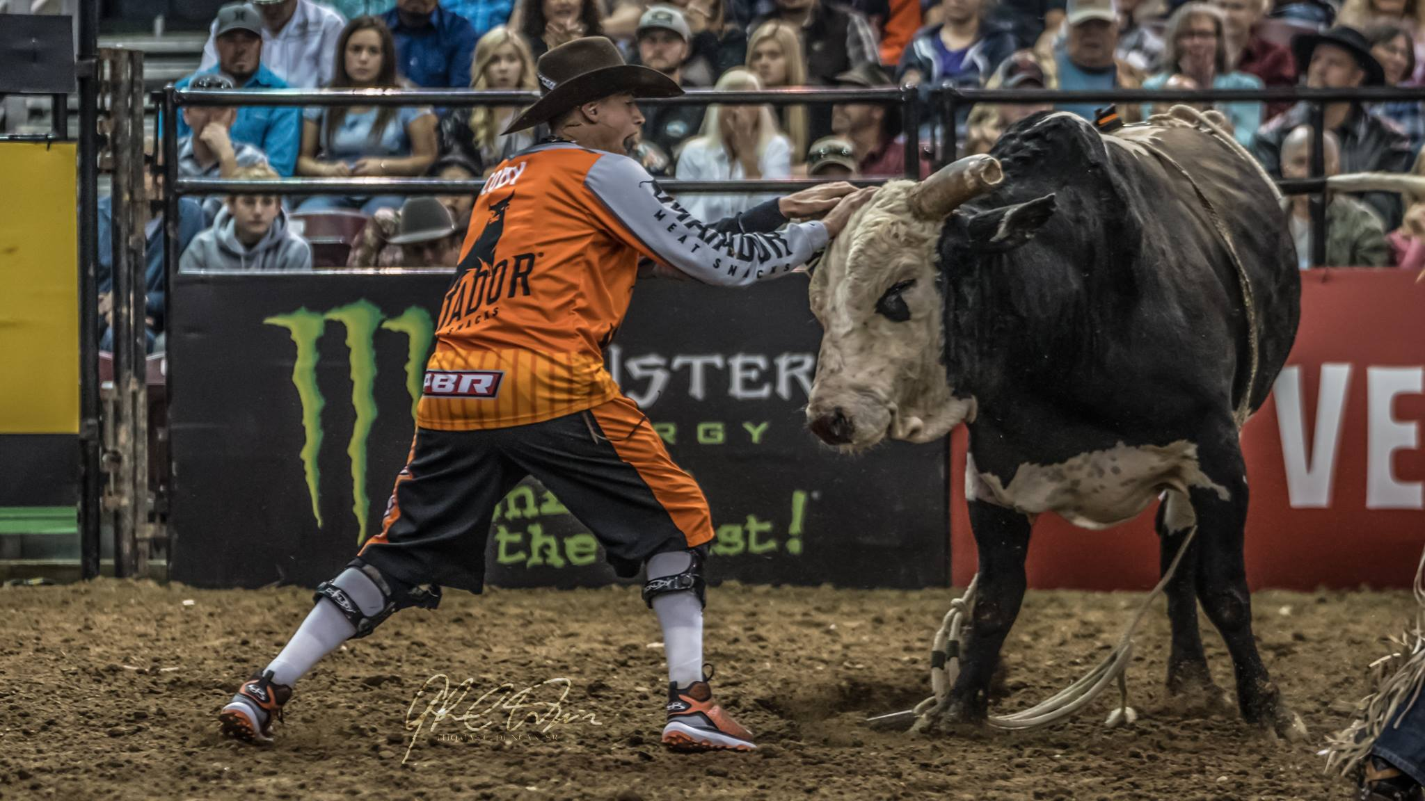 Bullfighter PBR at Nampa DeWALT INvitational