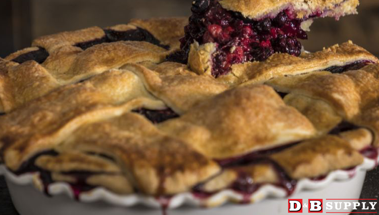 Traeger Mixed Berry Pie Picture