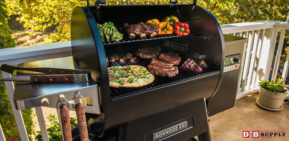 The Perfect Brisket with Traeger - Traeger with assorted food